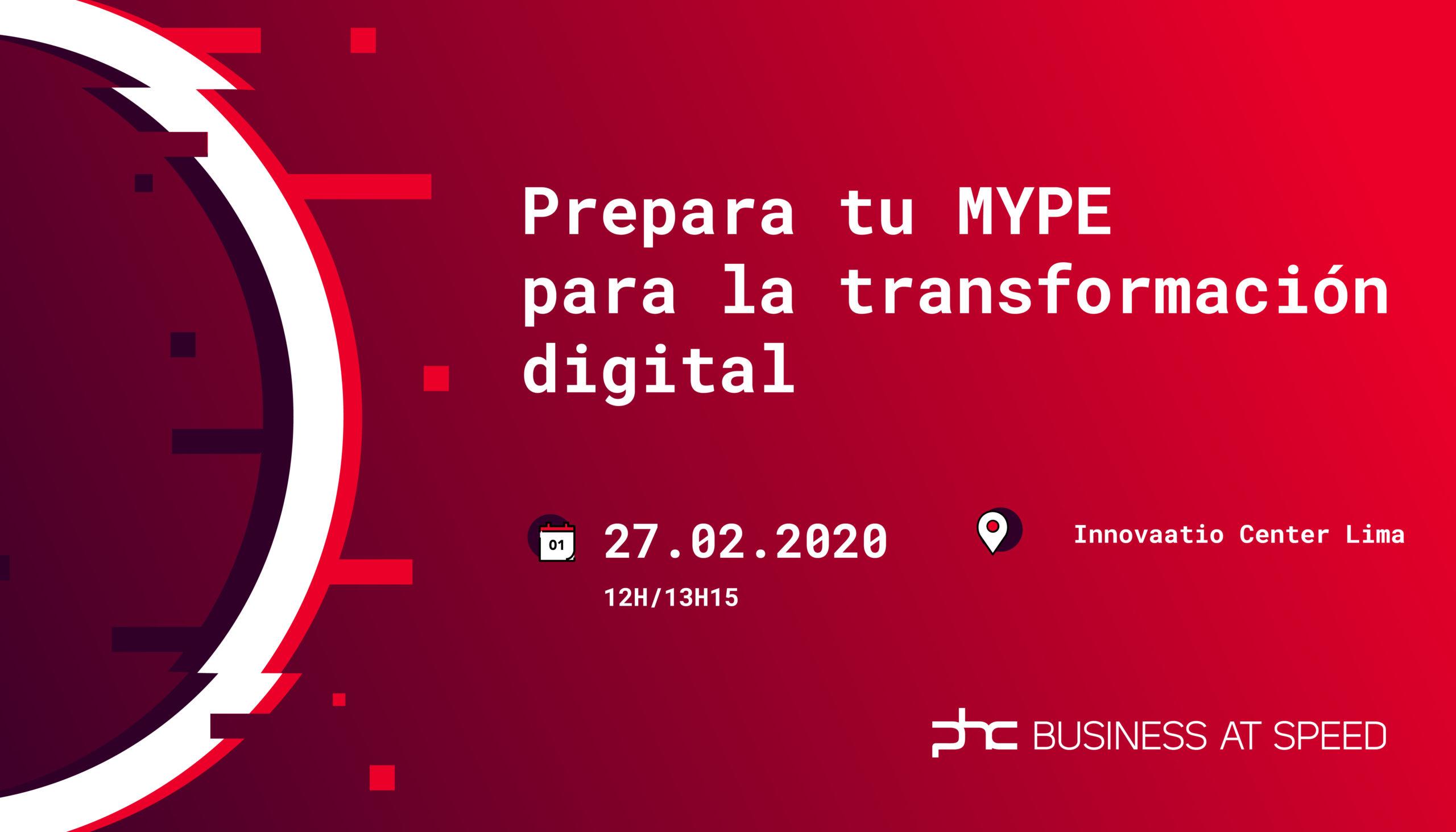 PHC organiza evento para MYPES para promover la transformación digital