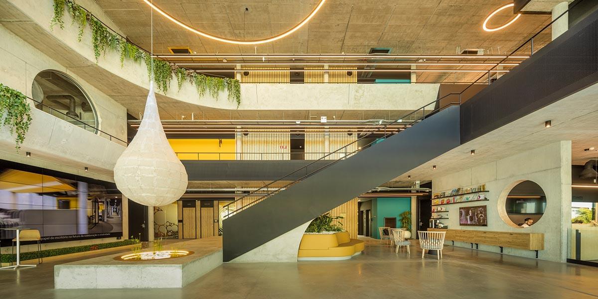 Interior de La nueva sede de PHC Software que se llama House of Digital Business